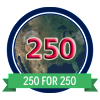 250for250